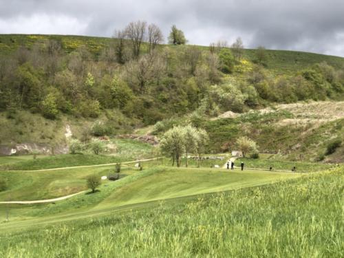 Blick zum Green Loch 5